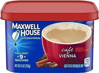 Maxwell House International Cafe Vienna Instant Ground Coffee (9 oz Tin)