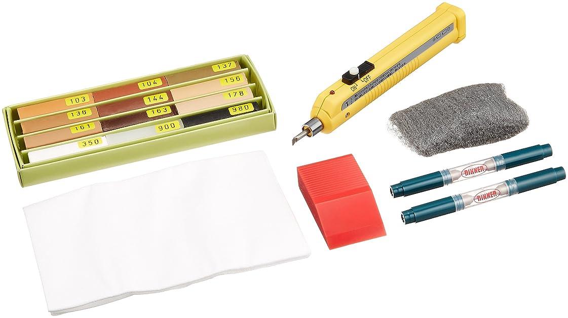 判定反応するイブニングハウスボックス 大工さんの補修箱 床暖房、シート建材対応、本格補修キット