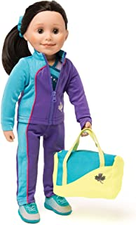 Maplelea Personal Best Gymnastics Outfit for 18 Inch Dolls