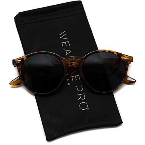 f2de69bf24248 WearMe Pro - Classic Small Round Retro Sunglasses
