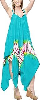 Everyday Essentials Caftan Tunic Tank Summer Beach Dress Swim Cover Up BL