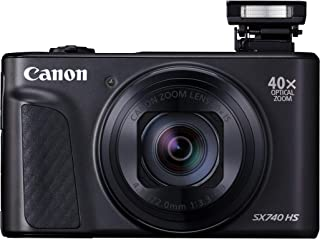 Canon SX740HSBK PowerShot SX740 HS Digital Camera, Black