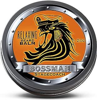 Bossman Relaxing Beard Balm - Nourish, Thicken and Strengthen Your Beard (Stagecoach)