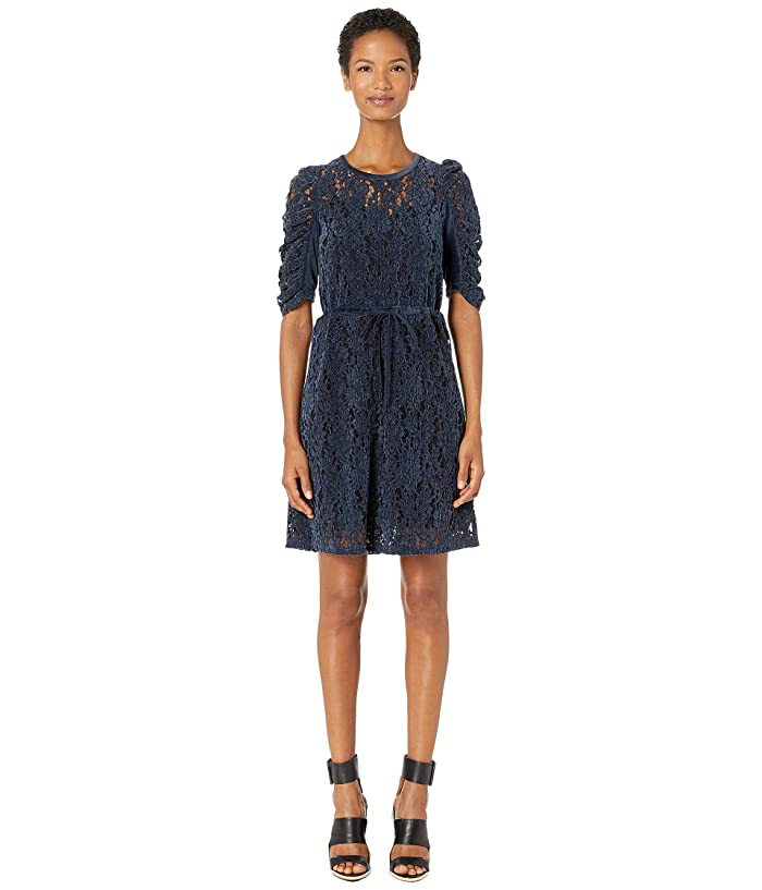 Velvet Knit Drawstring Dress by See By Chloe
