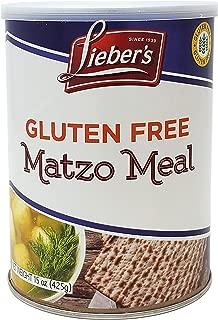 Lieber's Matzo Meal, Gluten Free, 15 Ounce Canister (Single)