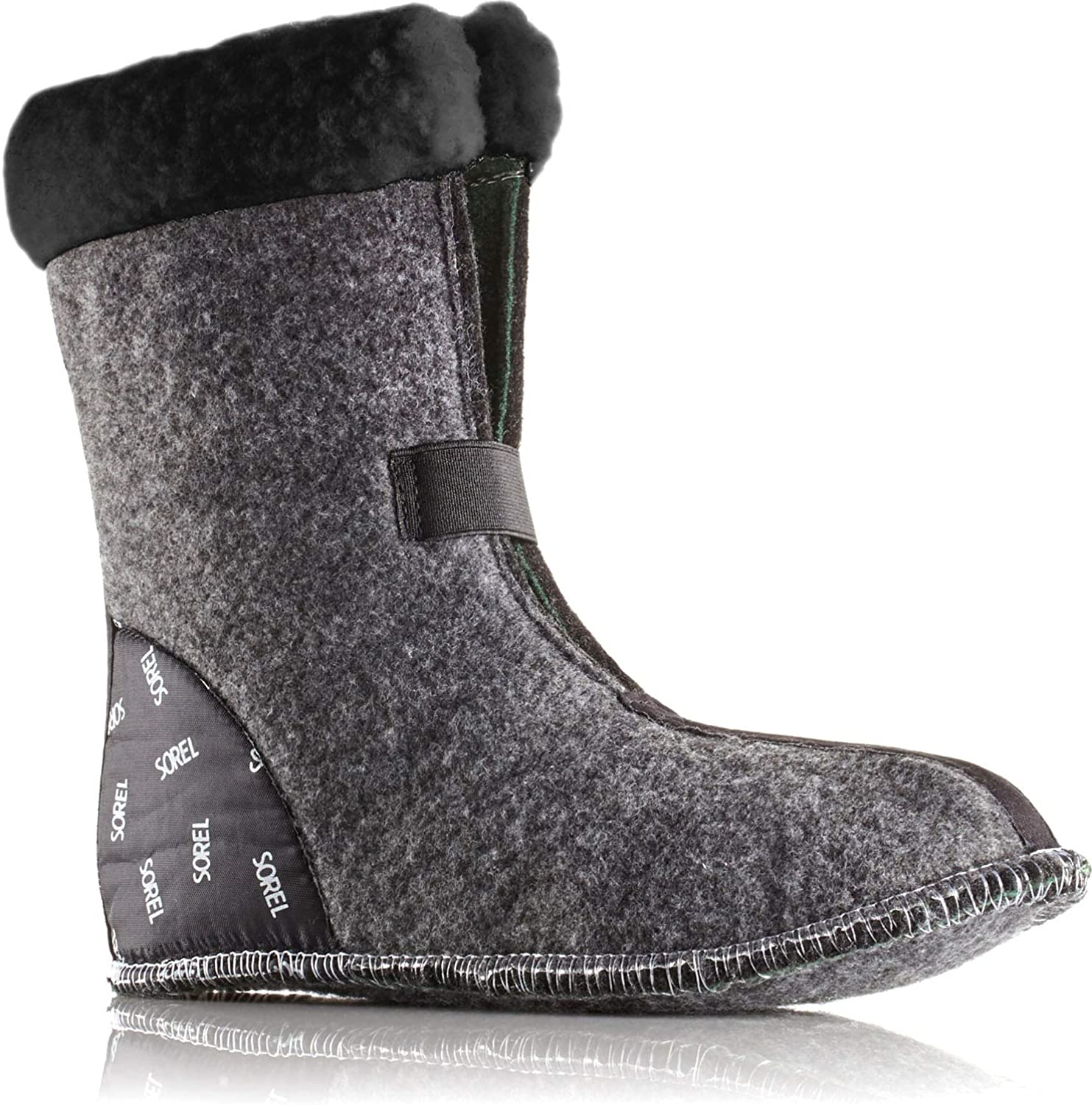Sorel Womens Caribou 9MM Thermoplus Boot Liner with Snow Cuff