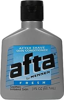 Mennen Afta Skin Conditioner After Shave-Fresh 3 oz. (Pack of 6)