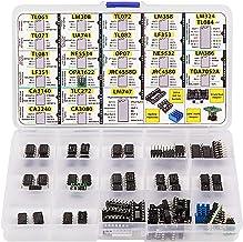 OpAmp Assortment 70 pcs incl. Sockets, TL061 TL071 TL081 UA71 LM308 LF351 LF353 NE5534 TL084 OPA1622 LM324 TL072 TL082 LM358 LM747 OP07 JRC4558D Dual NE5532 LM386 CA3080 CA3140 CA3240 TLC272 TDA7052