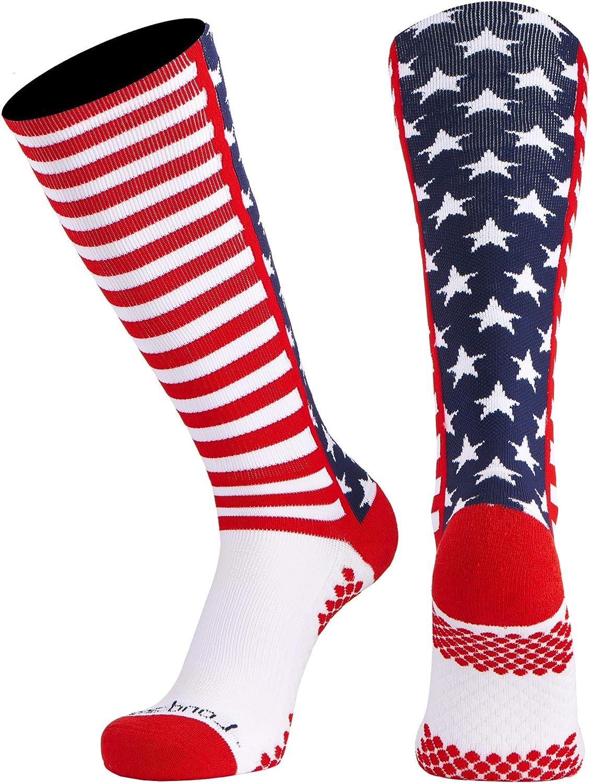 Londkaron American Flag Stars /& Striped Elite Multisport Socks Over The Calf
