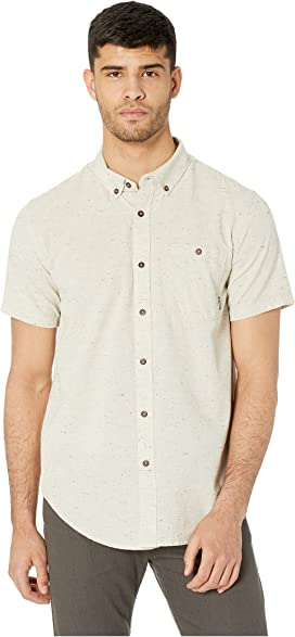 6b7100afc7 Hurley One & Only 2.0 Short Sleeve Woven | Zappos.com
