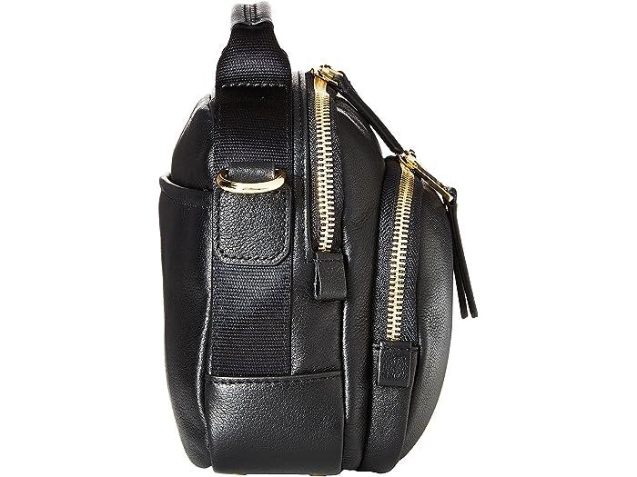 Tumi Voyageur Troy Crossbody Black Leher Handbags