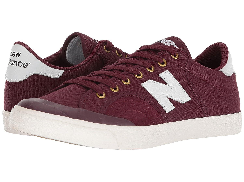 (ニューバランス) New Balance メンズスニーカー?カジュアルシューズ?靴?スケート NM212 Burgundy/White 9.5 (27.5cm) D - Medium