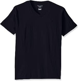 Champion Mens T0221 Classic Jersey V-Neck T-Shirt Short Sleeve Shirt