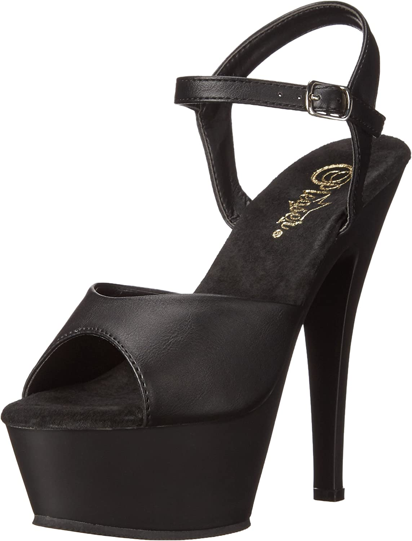 Pleaser Womens kiss209 bpu m Platform Dress Sandal
