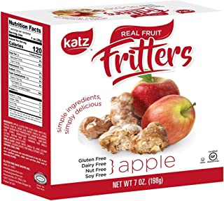 Katz Gluten Free Apple Fritters | Dairy Free, Nut Free, Soy Free, Gluten Free | Kosher (1 Pack, 7 Ounce)
