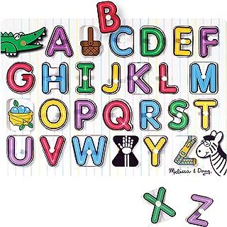 Melissa and Doug See-Inside Alphabet Peg