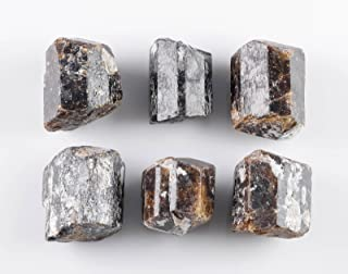 DRAVITE Raw Crystals - One Genuine Natural Tourmaline Crystal Rock, Reiki Crystals and Healing Stones E0418
