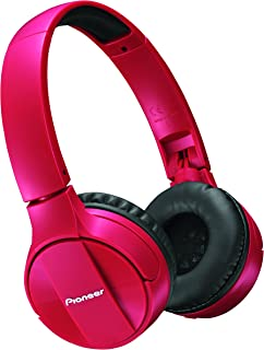 Pioneer SE-MJ553BT-R Bluetooth On-ear Rojo