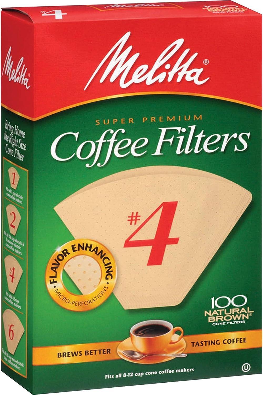 Melitta Super Premium Max 86% OFF No. 4 Cone Coffee Paper Ranking TOP3 Natu Filter
