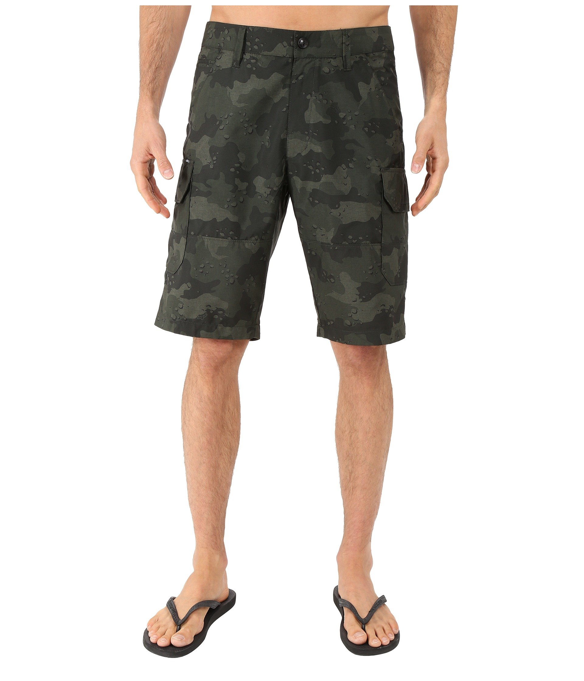 Pantaloneta para Hombre Fox Slambozo Tech Camo Shorts  + Fox en VeoyCompro.net
