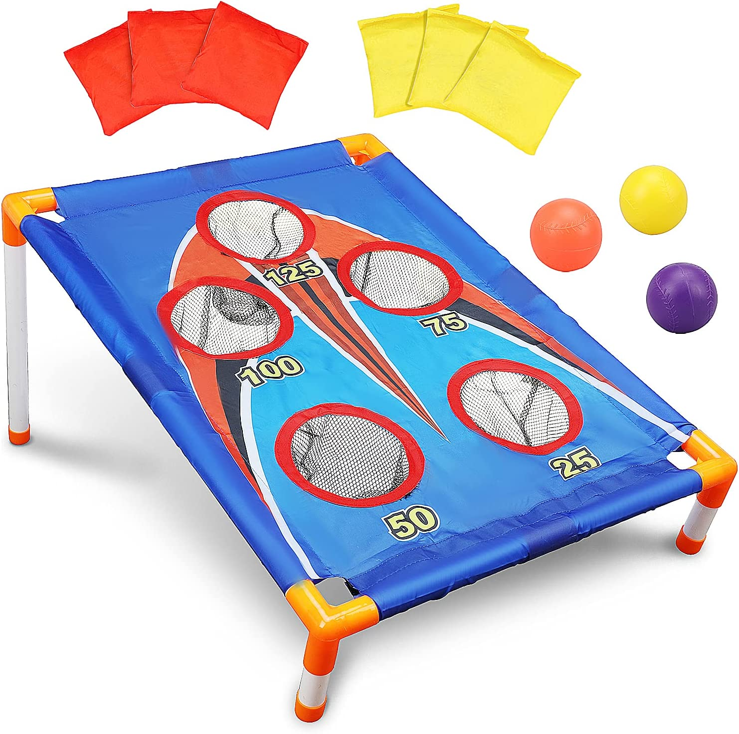 TOY Life Kids Cornhole Outdoor sale Games - Bag Ki for Bean Toss Game Outstanding