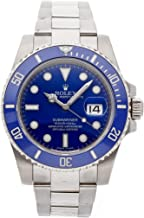 Rolex Submariner 40 116619 18K White Gold Automatic Men's Watch B/P (Certified Pre-owned)