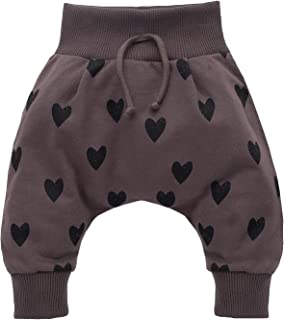 Pantalone//Pantaloni Pagliaccetto Neonato Bimba- Rosa Blu Pinokio Vita Elastica Petit Lou 56 62 68 74 cm Pantaloncini in Cotone 100/% con Piedi
