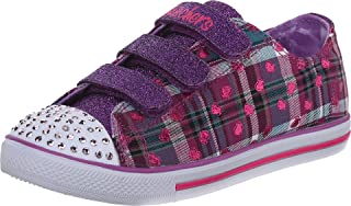 Kids Twinkle Toes-Chit Chat Light-Up Strap Sneaker
