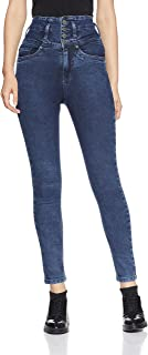 AKA CHIC Women's Regular Rise Skinny Jeans