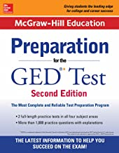 McGraw-Hill Education Preparation for the GED Test 2nd Edition (Mcgraw Hill Education Preparation for the Ged Test)