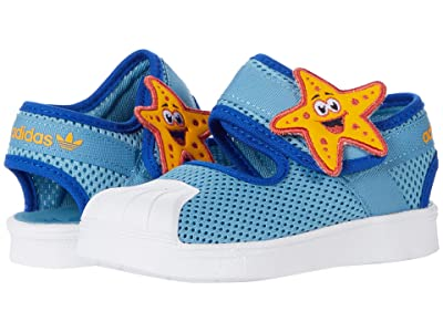 adidas Originals Kids Superstar 360 Suede Leather Primeblue (Toddler)