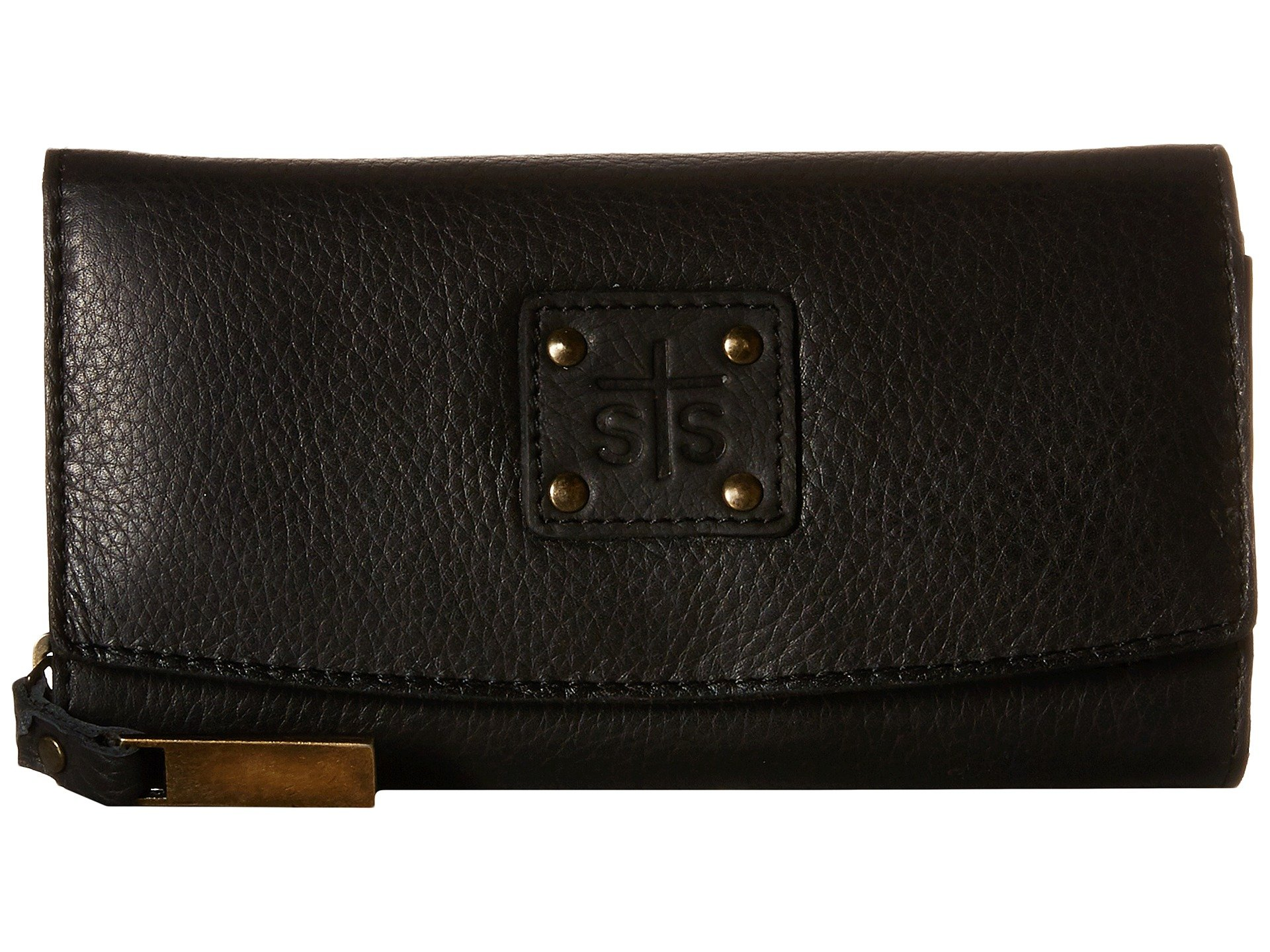 Cassie Sts Wallet The Ranchwear Black Trifold Joh Ann10gS
