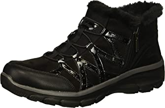 Skechers Women's Easy Going-Tribune-Double Zipper Bungee Bootie with Air-Cooled Memory Foam Ankle Boot