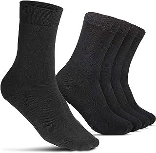 Calcetines de negocios 5 pares para hombres traje Oeko-Tex medias largas y casuales de negocios y ocio 5er pack