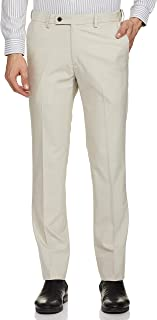 Arrow Beige Mens Trousers Regular Pants