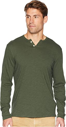 Wintz Long Sleeve Slub Henley
