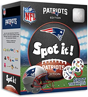 MasterPieces NFL Spot It! New England Patriots Edition, Multi, One Size (41753)