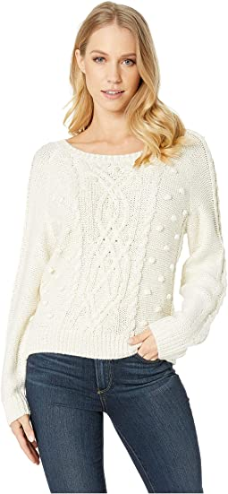 Genivie Cable Knit Sweater