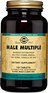 Solgar – Male Multiple, 120 Tablets
