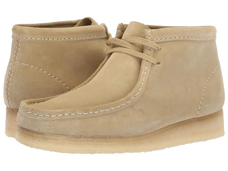Clarks Wallabee Boot (Maple Suede) Women