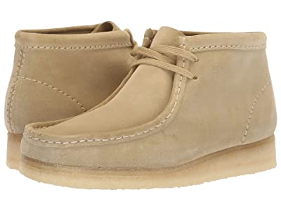Clarks Wallabee Boot (Maple Suede) Women