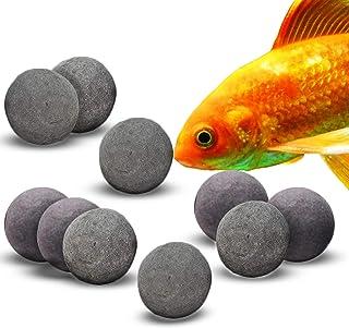 SunGrow Mineral Betta Stones for Aquarium, Nutritious Beads for Bettas, Calcium-Rich Balls, Make Fish Fins' Vivid and Vibr...