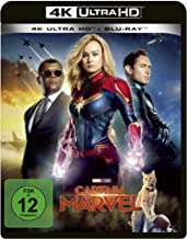 Captain Marvel: 4K Ultra HD Blu-ray + Blu-ray