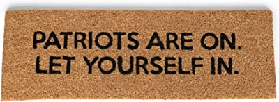47th & Main Coir Door Mat, 32 x 10-inches, Patriots