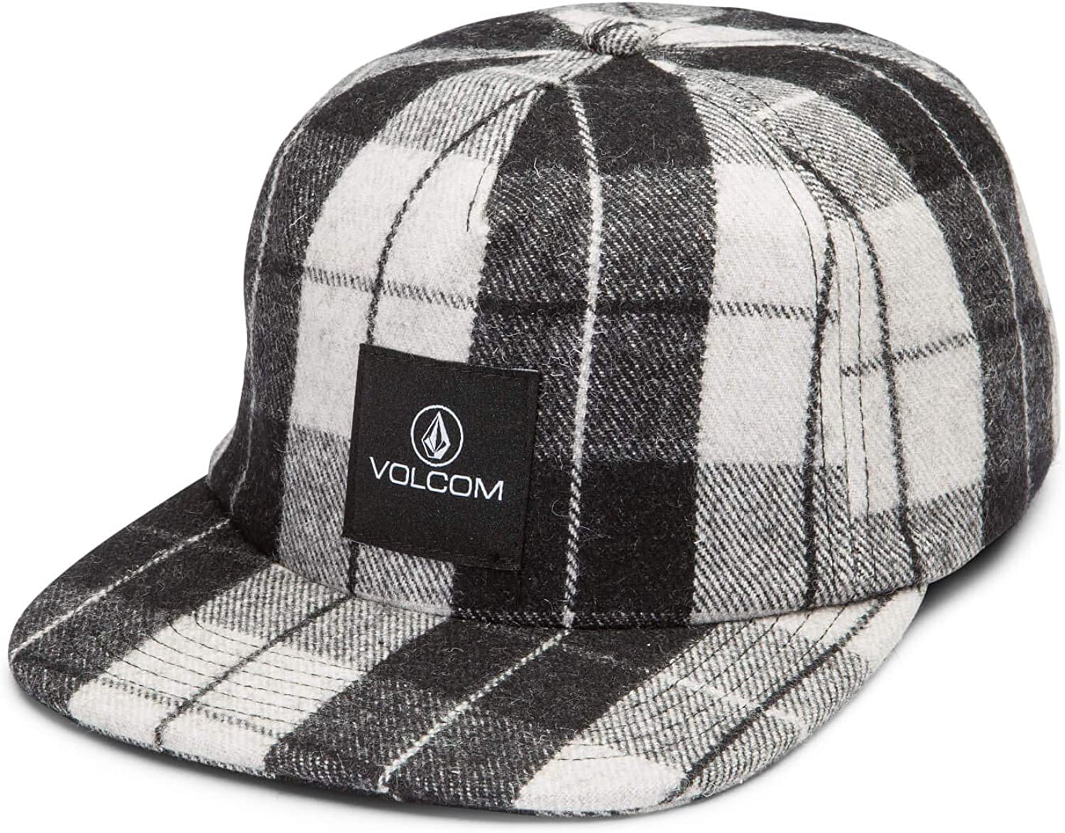 Volcom Junior's Stack That Plaid Hat