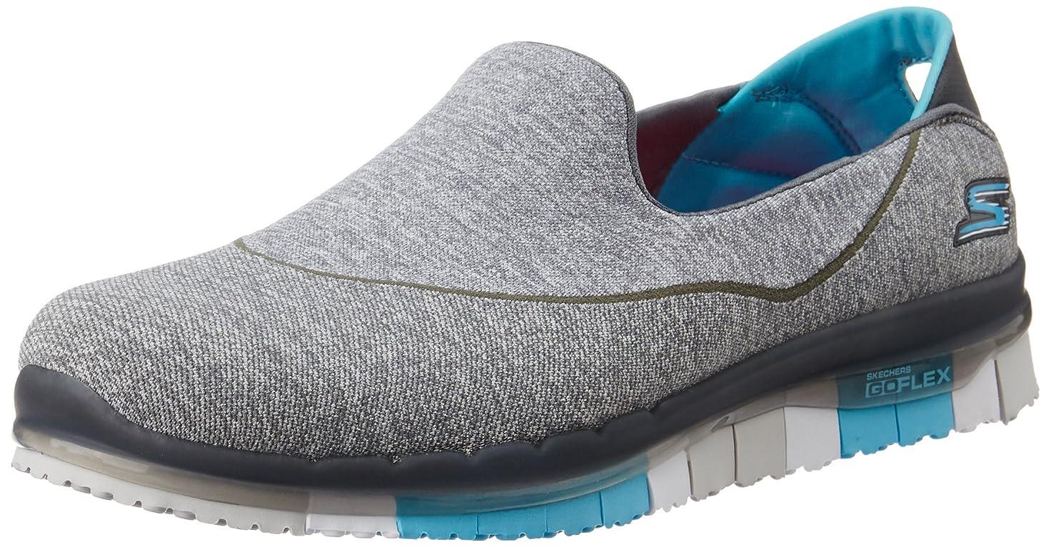 歪める気をつけて明るい[スケッチャーズ] 靴 ? Go Flex グレー/青 サイズ:41