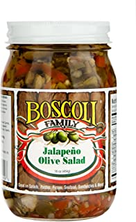 Boscoli Olive Salad Jalapeno
