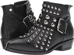 Manila Grace - Studded Fringe Ankle Boots