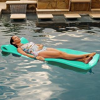 Pool Mate Large Foam Mattress Swimming Pool Float, Mint