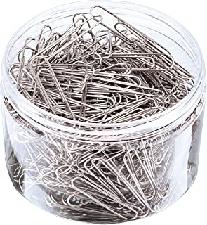 Sunmns 300 Pieces Large Size Paper Clips for Office School and Personal Use, 2 Inch